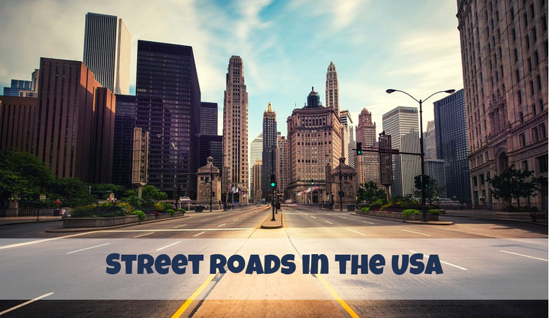 Street Roads in the USA